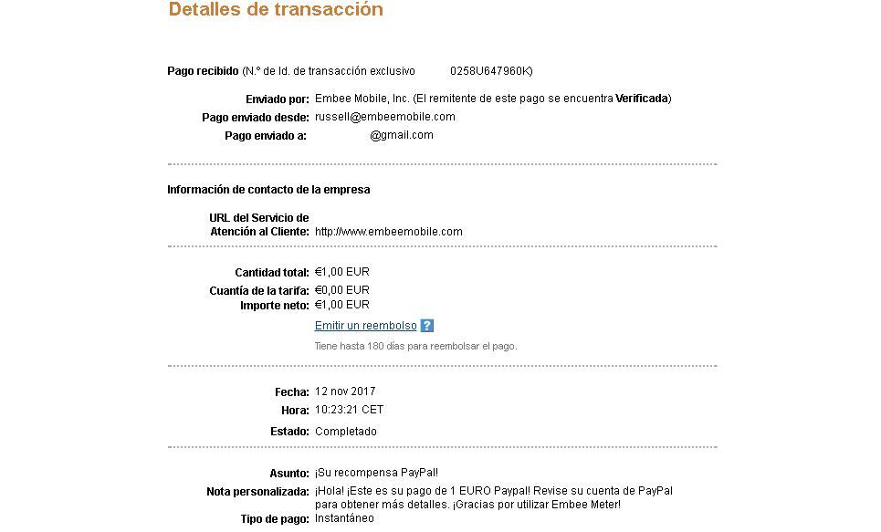 detalle pago embeer meter cx