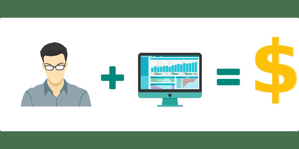 trabajo y ordenador igual ganar dinero en internet