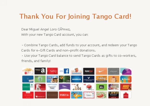 tango card registro