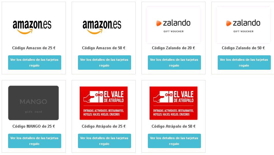premios amazon en cashbackdeals