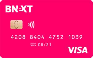 tarjetas de débito bnext