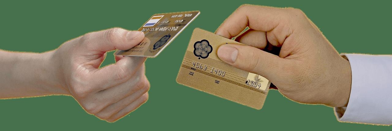 cambio de tarjetas de débito