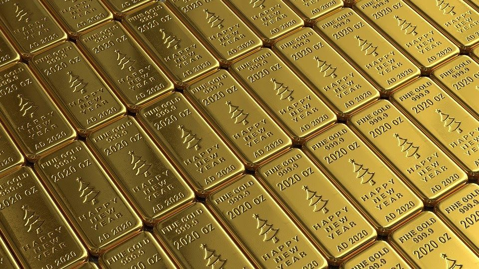 lingotes de oro para ganar dinero invirtiendo en oro
