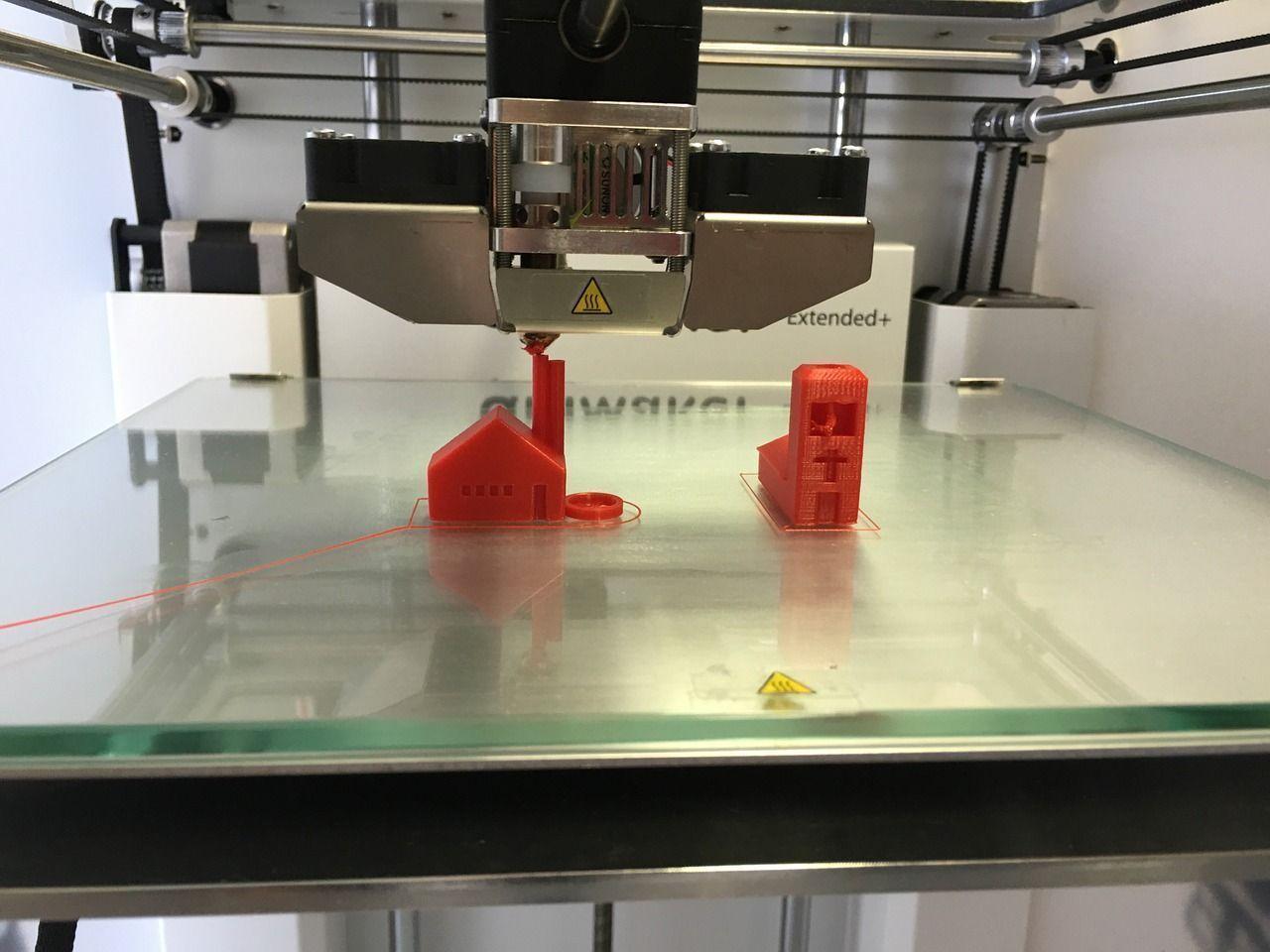 impresoras 3d presión