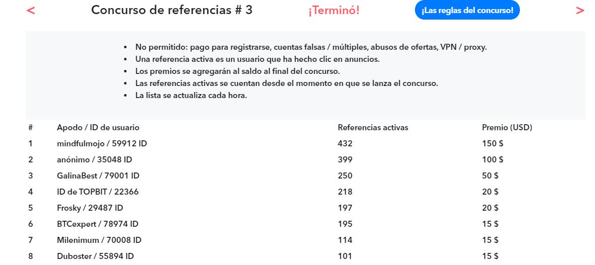 concurso referencias trafficly.io