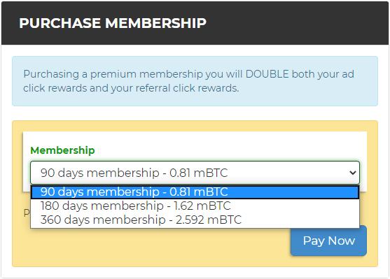 membresía btcclicks